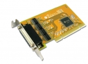 4 porty RS-232 karta PCI Low Profile