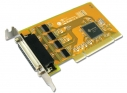 4 porty RS-232 karta PCI High Speed Low Profile